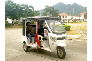 New electric tricycles ply pueblo batangas pueblo de oro for Local motors pueblo co
