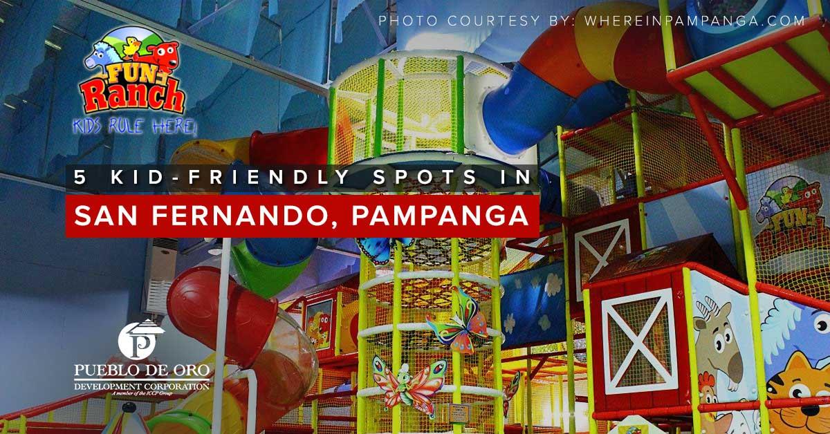 indoor playground pampanga, kids playground pampanga, san fernando pampanga, pueblo de oro pampanga