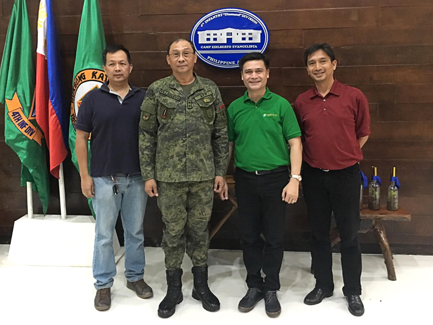 CDO - Courtesy Call with 4ID Villanueva