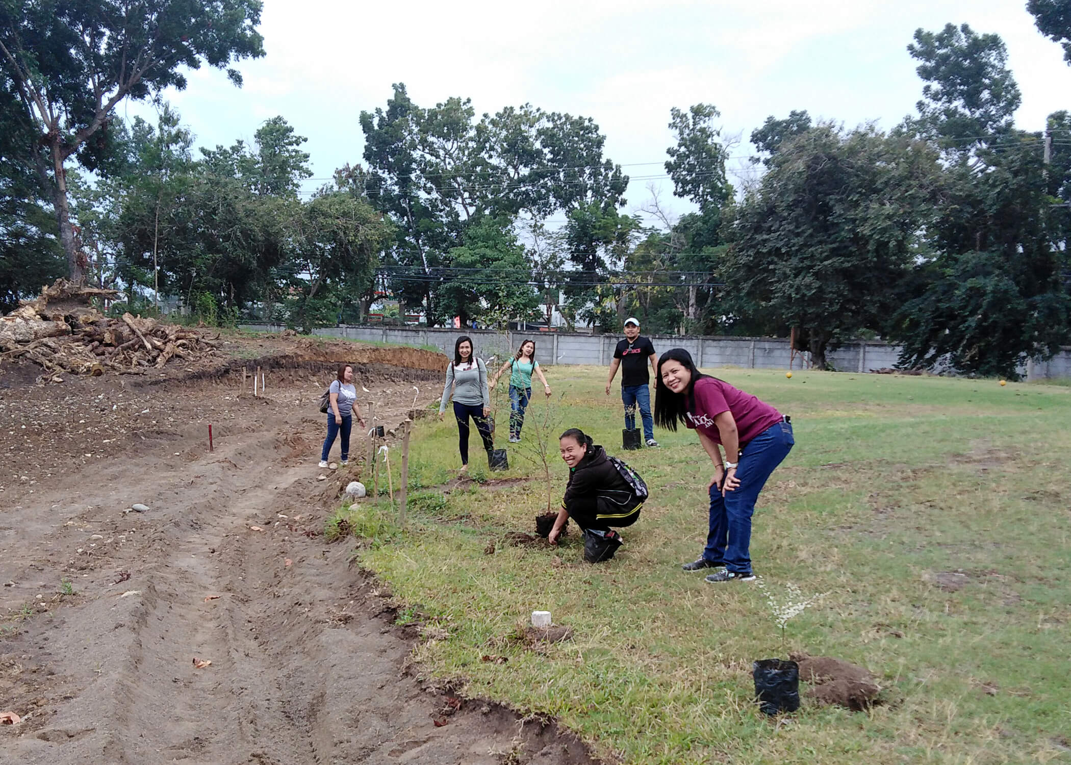CDO - Tree Planting, The Grove