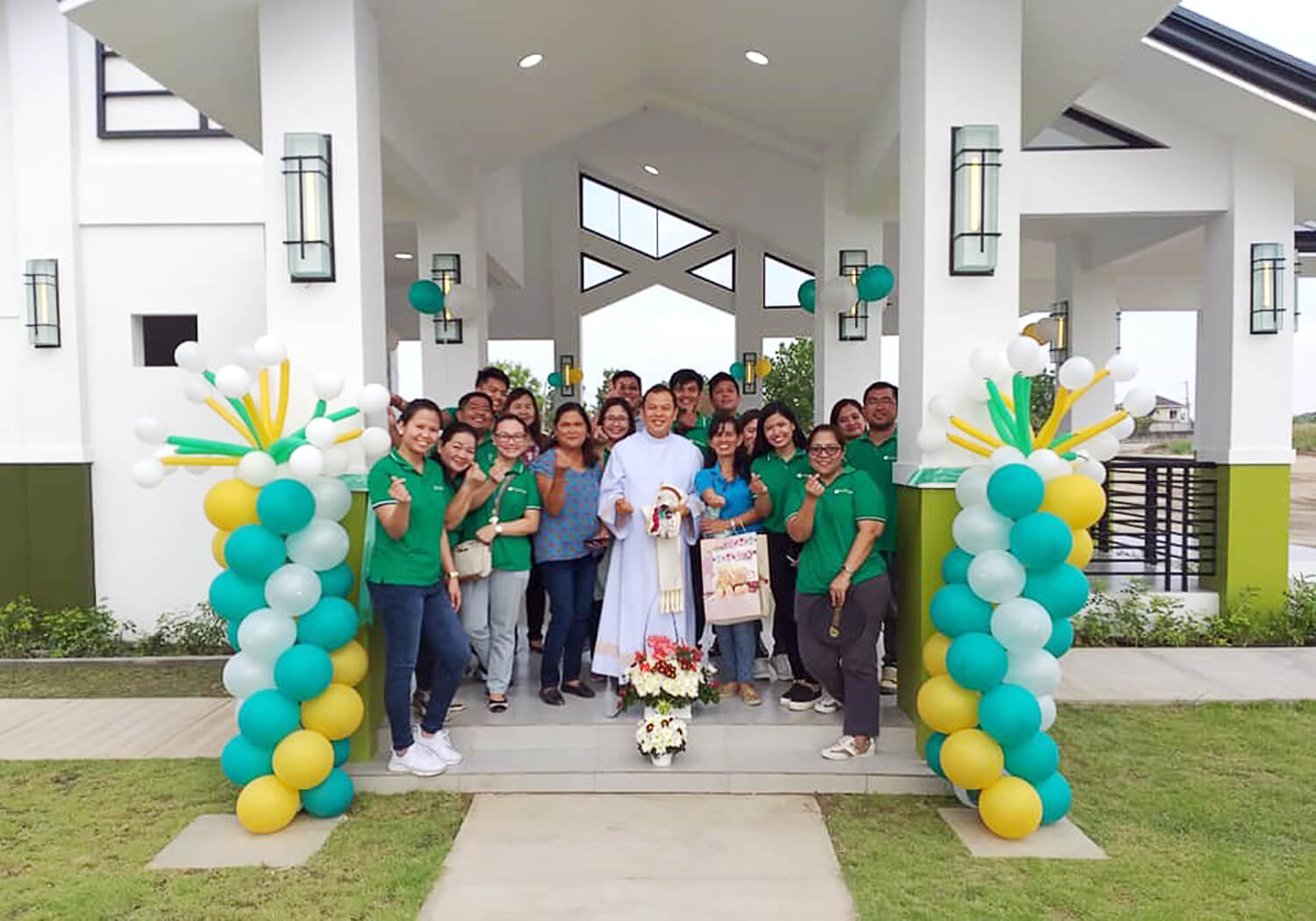 Pampanga - LAF Clubhouse Blessing