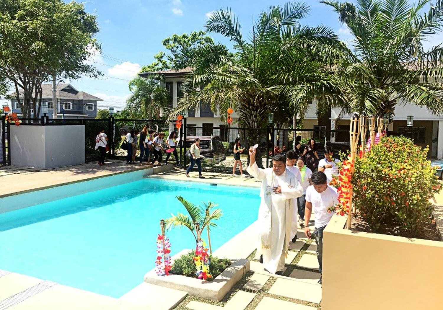 Pampanga - Horizon Pool Blessing